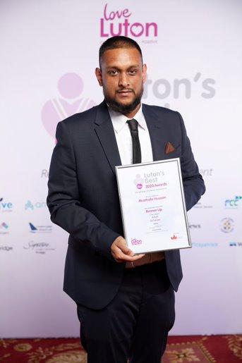 Adult Achiever Mustafa Ahmed Runner up