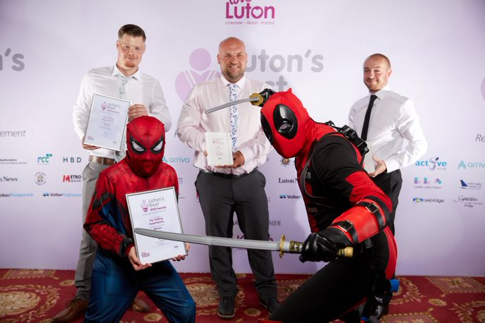 Best Fundraiser The Visiting Superheroes
