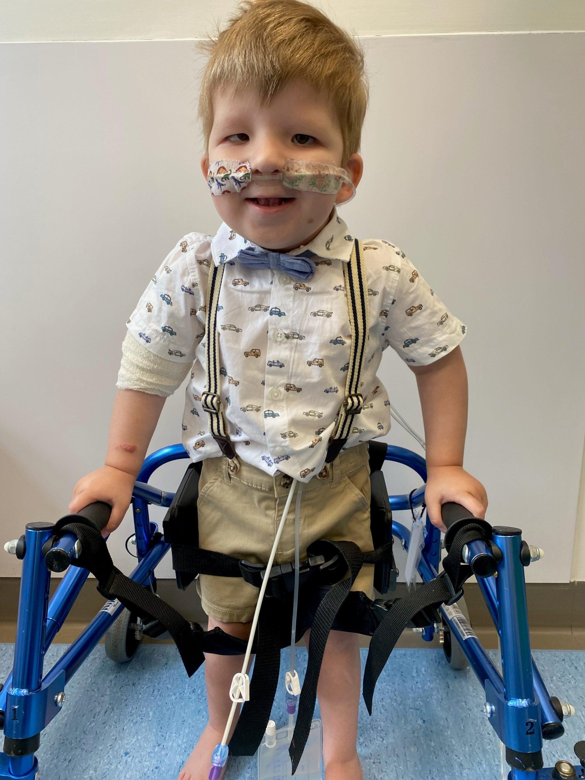 Child of Courage Joint Winner Harvey Buckingham