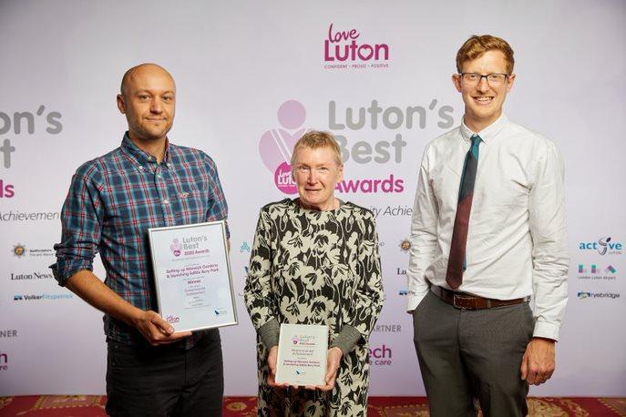 Environmental Achievement Edible Bury Park Winner