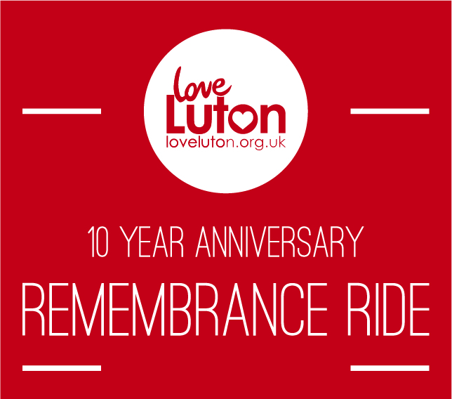 Love Luton Remembrance Ride Logo