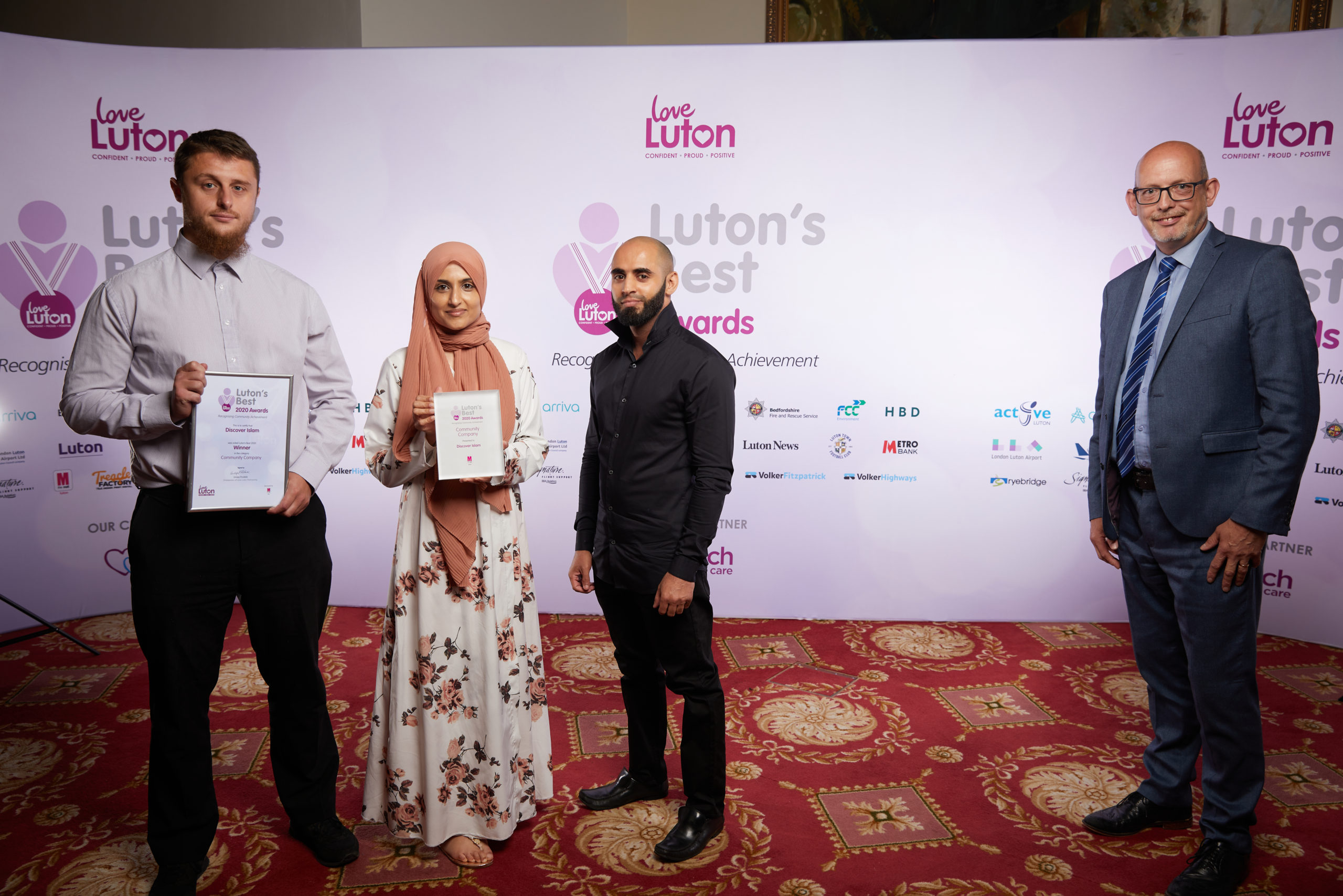 Luton in Harmony Discover Islam Runner Up