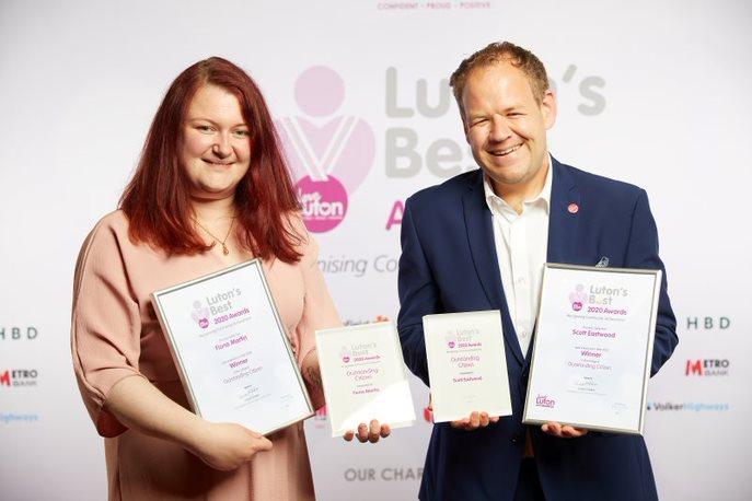Outstanding Citizen Scott Eastwood and Fiona Martin Winner