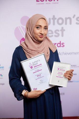 Sporting Inspiration Hasina Rahman Winner
